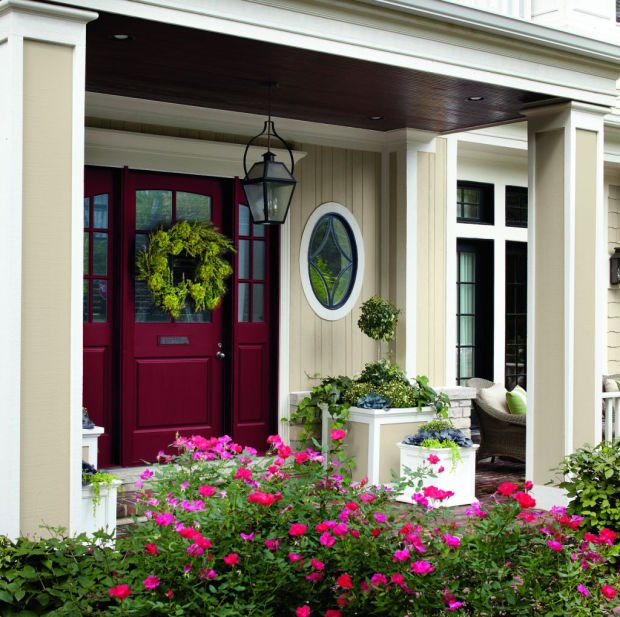 A Red Door Works With Many House Styles, Notes ShopSmart, The Shopping  Magazine From The Publisher Of Consumer Reports.