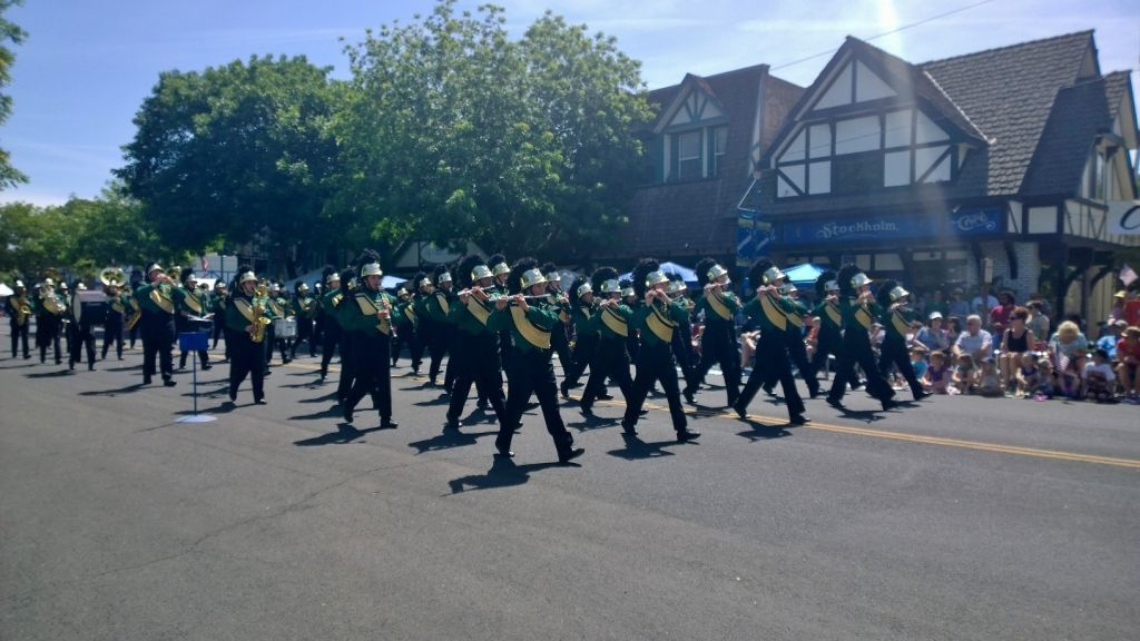 Kingsburg High Band: Marching