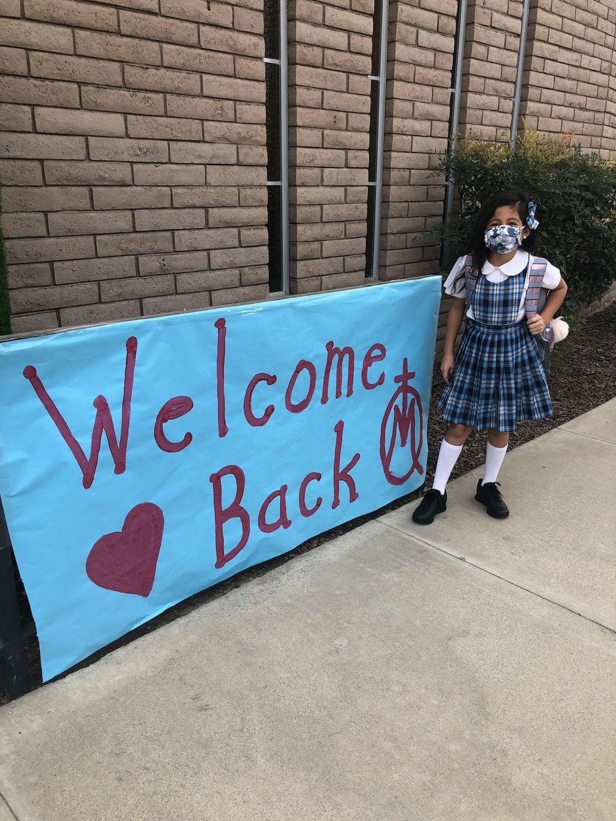 Mary Immaculate Queen, St. Rose-McCarthy welcome students back