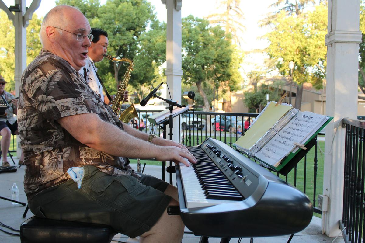 Music: Rick Tuttrup on keyboards