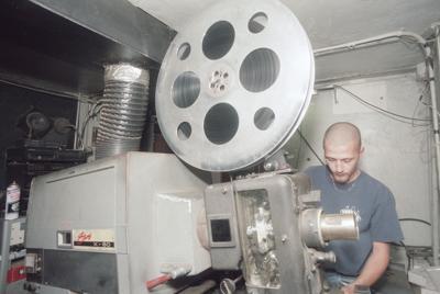 1997 Kings Drive-In projector