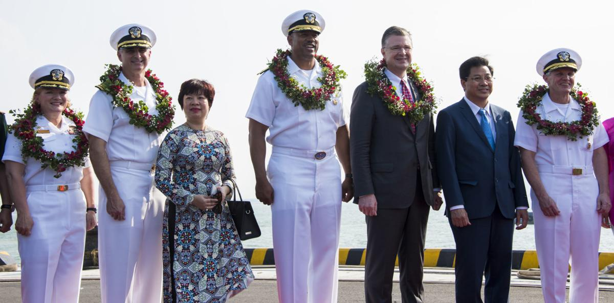 US aircraft carrier arrives in Vietnam for historic visit