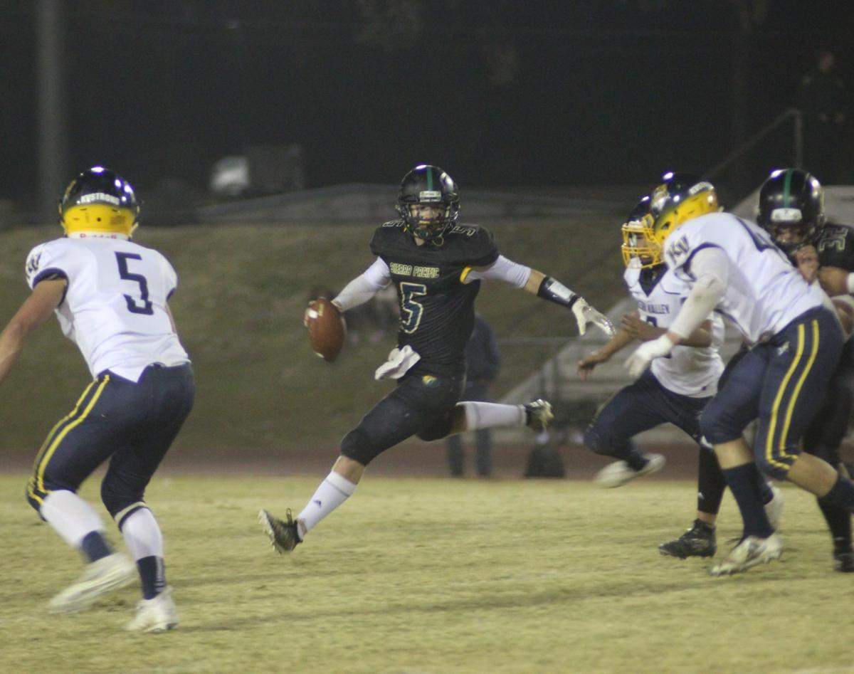 Golden Bears rout Broncs in first round