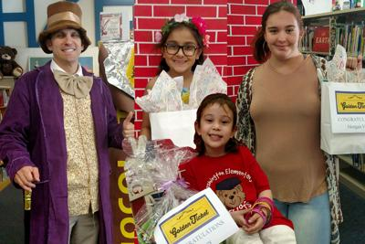Library: Golden Ticket contest winners