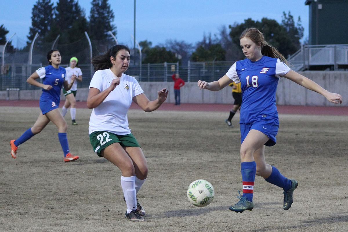 Vikings girls soccer: Berni Estes