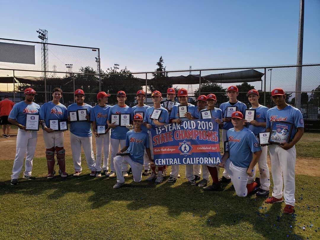 Hanford 13U All-Stars bring home another state title