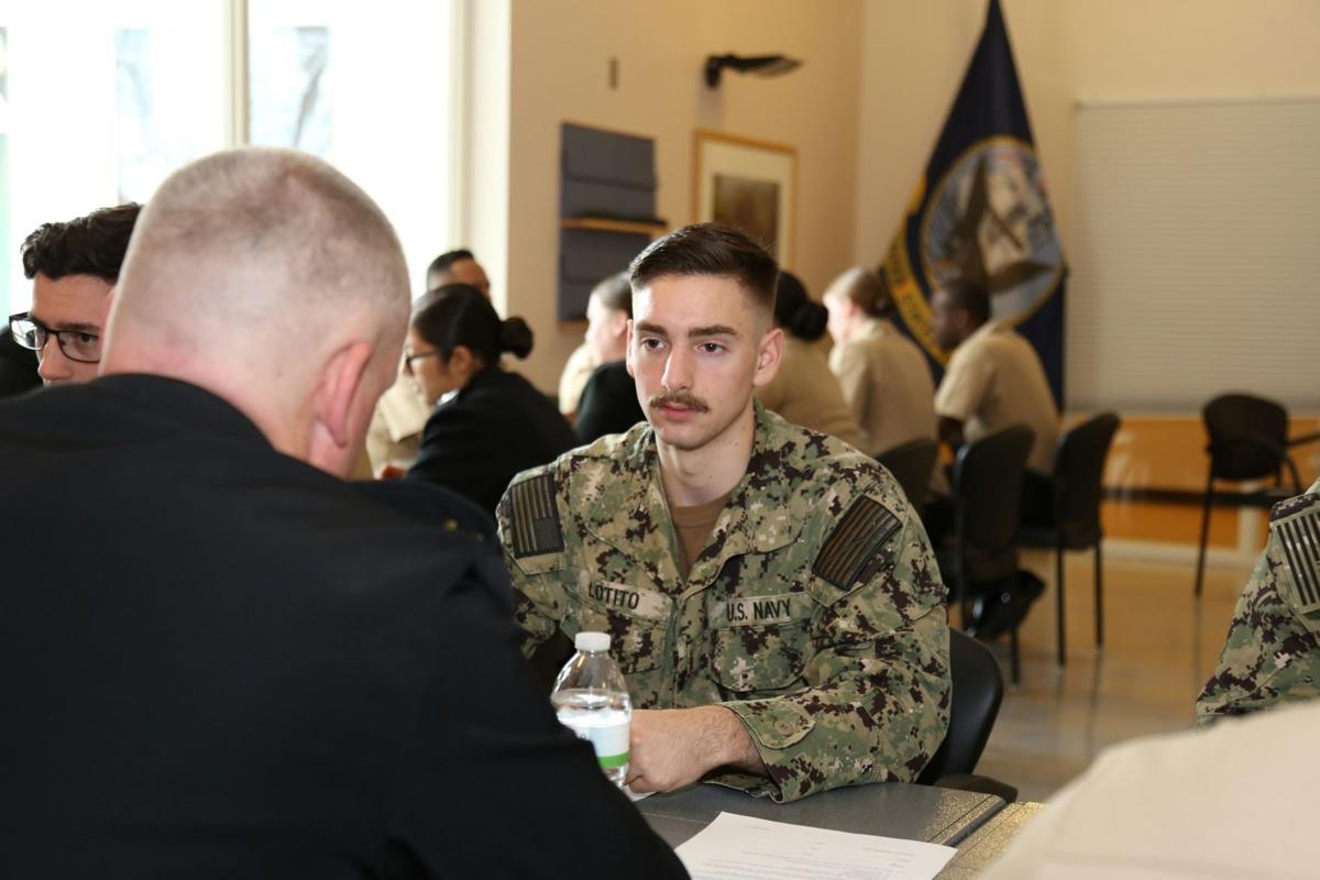 NMRTC Lemoore holds its first mentor minute workshop