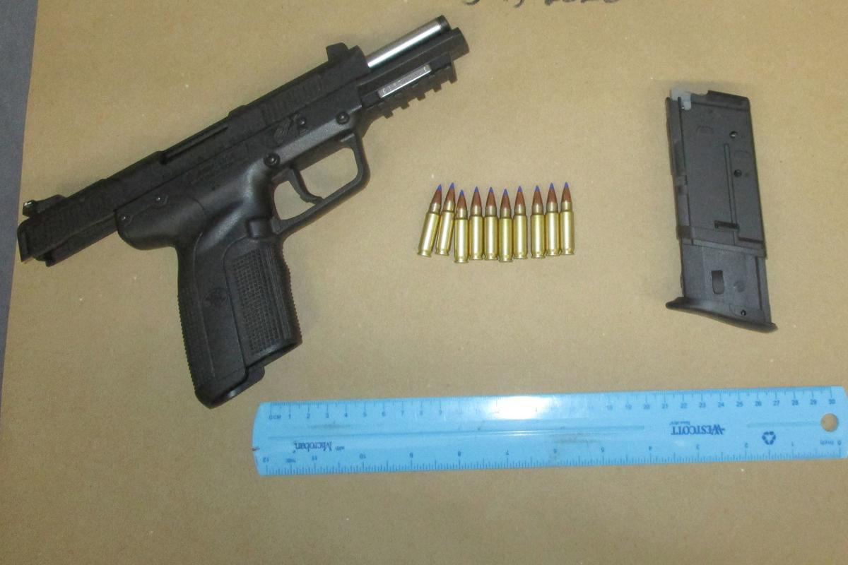 SPD: Gun found