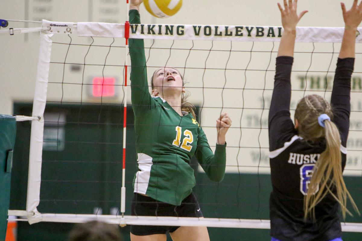 Kingsburg volleyball: Kassidy Wilson