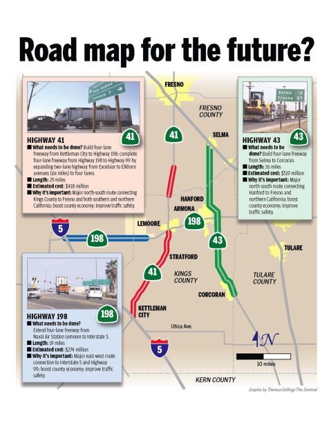 Map Of California Highway 99.Road Map For The Future Local Hanfordsentinel Com