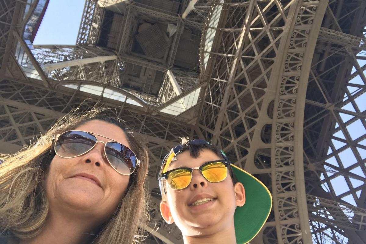 Nephew: Eiffel Tower