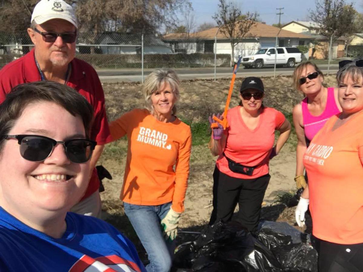 Community cleanup brigade