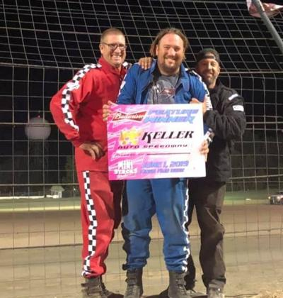 Myrick, Johnson Win Fair Races At Keller Auto Speedway