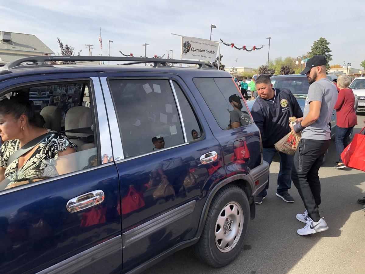 Jose Ramirez brings Operation Gobble to Avenal families