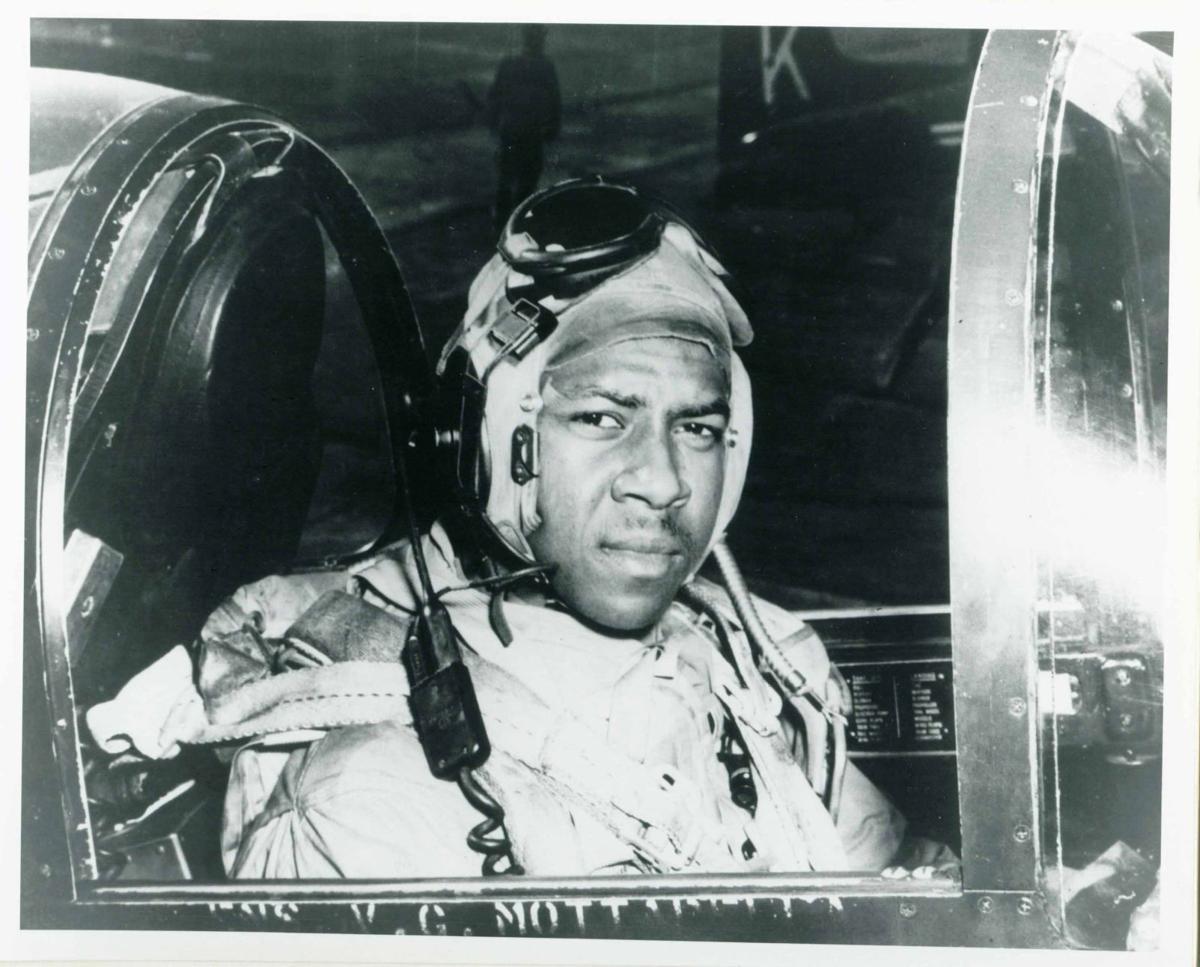 Grandson of Navy's first black aviator speaks at NAS Jacksonville