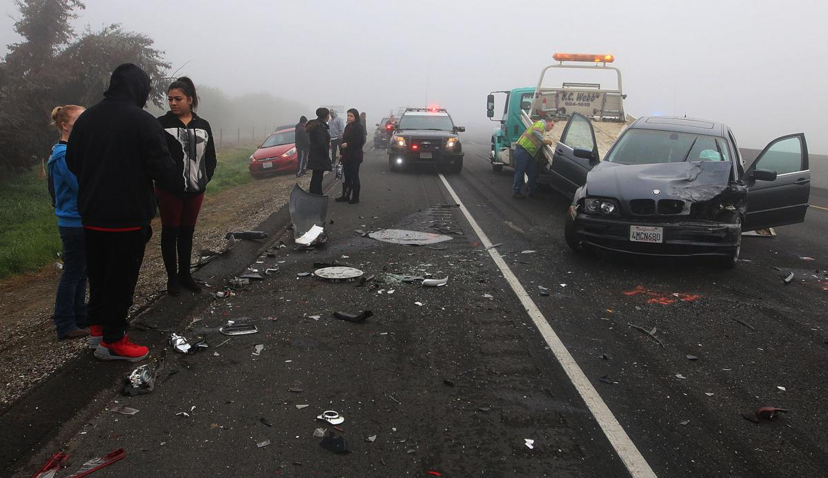 CHP: Unsafe speeds caused 50-car pileup | Local