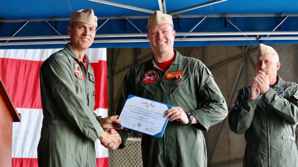 VFA-113 Holds Change of Command Ceremony