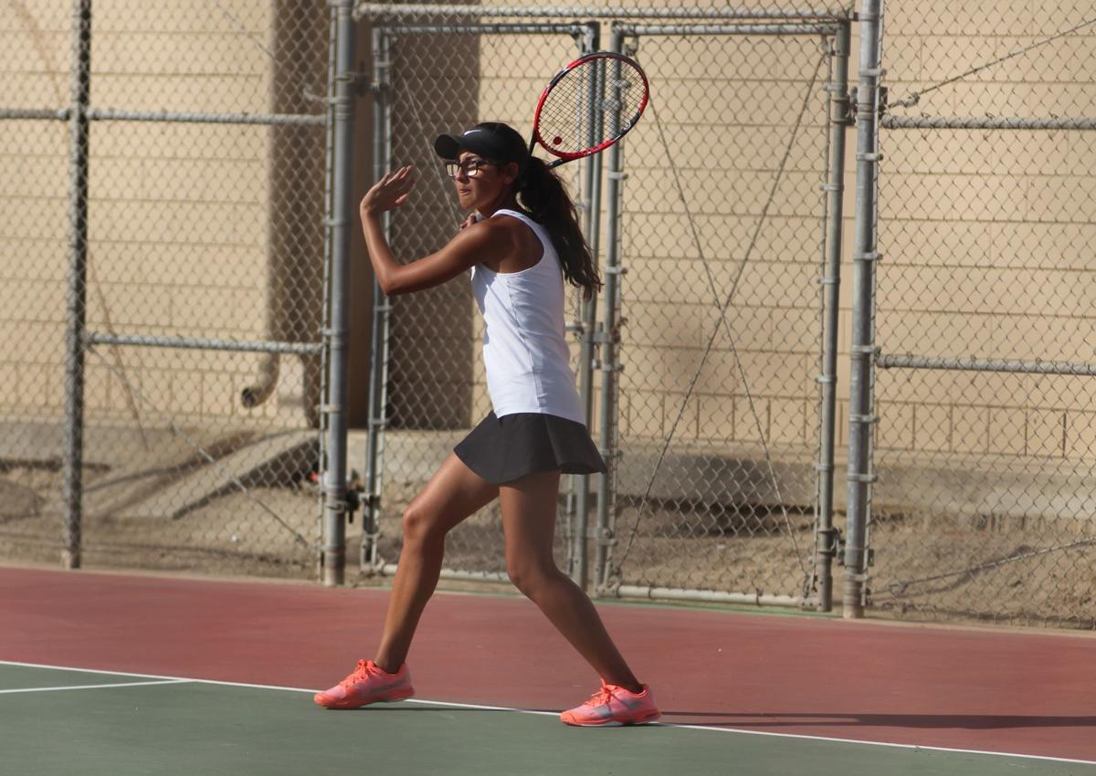 Selma girls tennis: Emily Sanchez