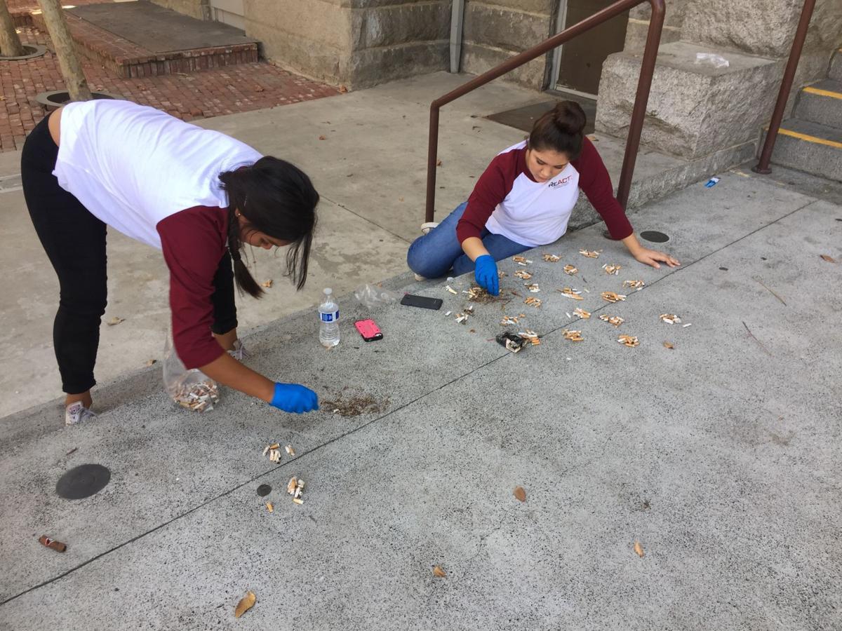 Hanford teens working to end teen smoking