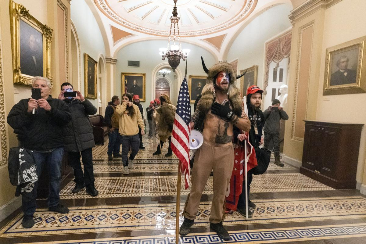 Protesters are in the building': US Capitol under siege | Politics |  hanfordsentinel.com