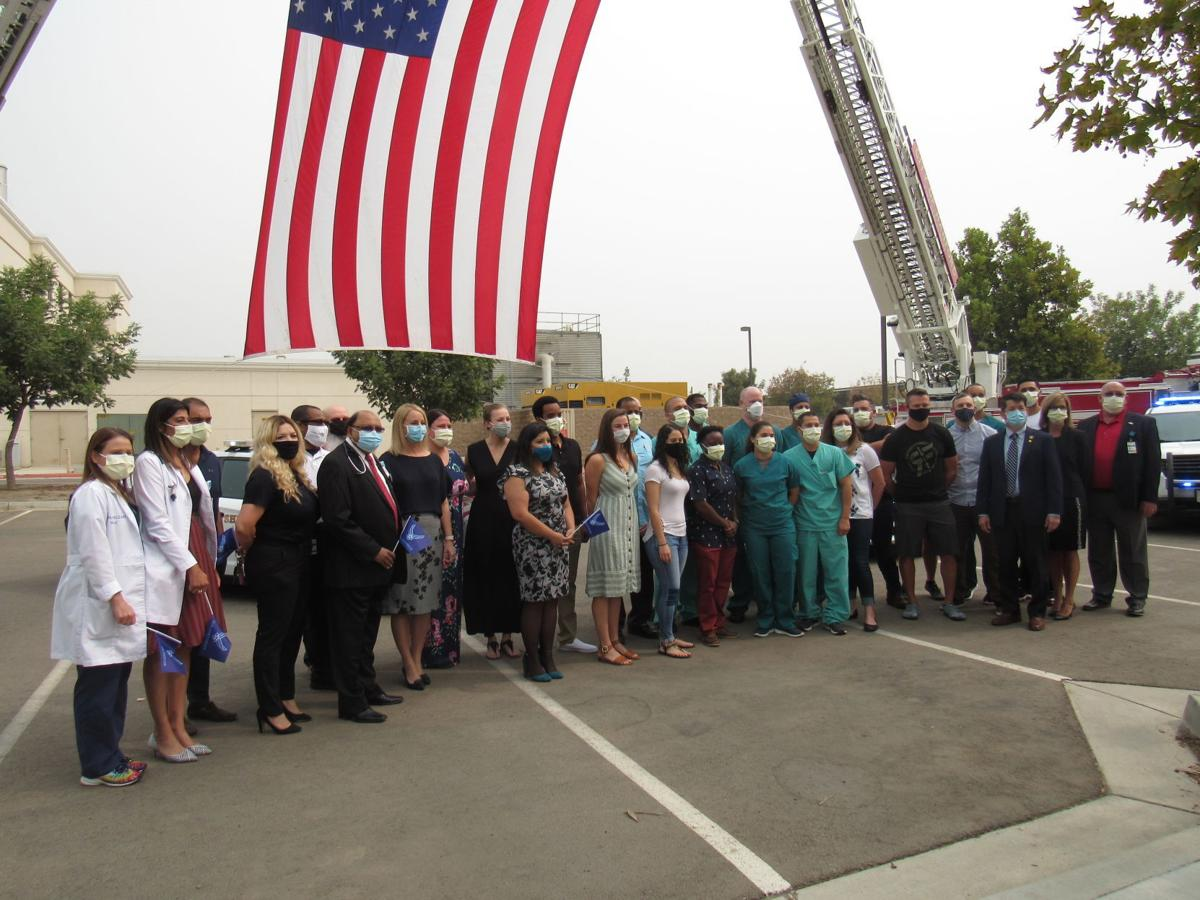 Adventist Health Hanford celebrates, thanks DoD team