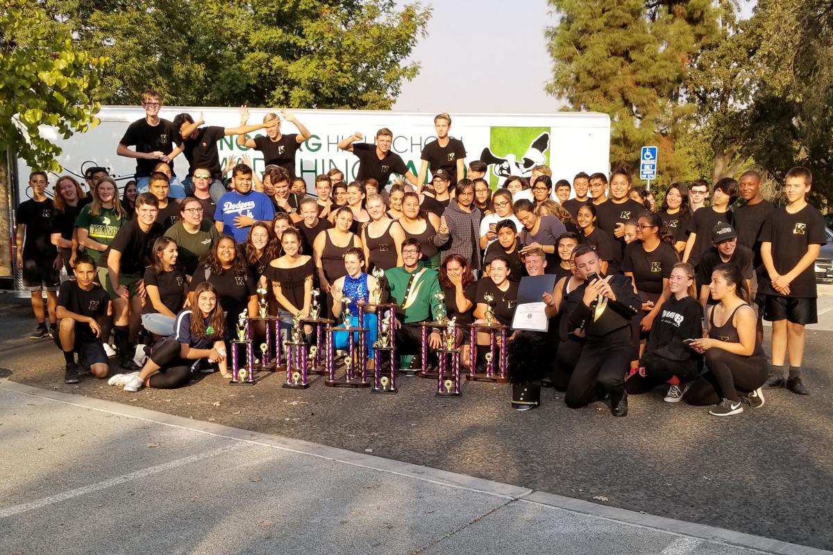 Marching band: With awards