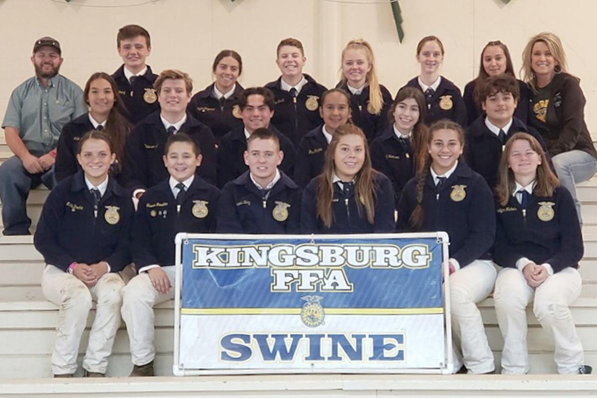 Readers: KHS FFA Swine competitors