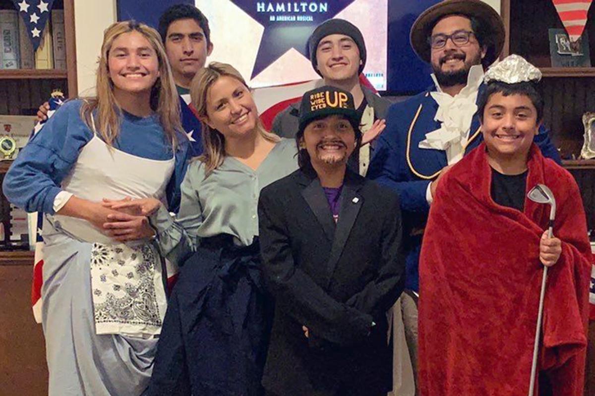 Family fun: Martinez family