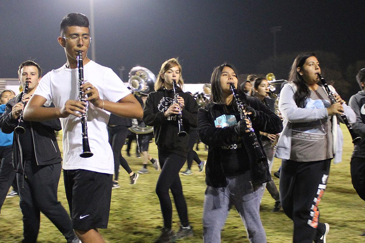 Marching: Clarinets