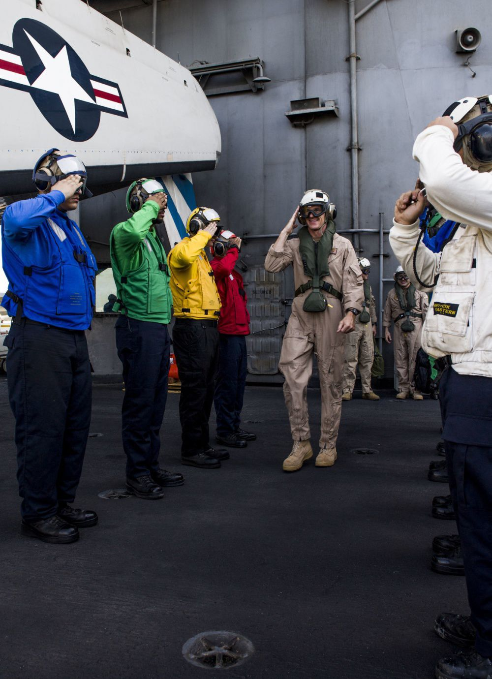 Carrier Strike Group 11 holds change of command in Persian Gulf