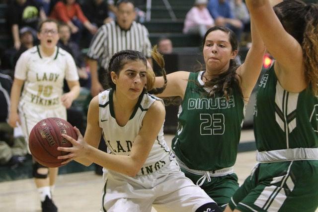 Kingsburg basketball: Audri Almendarez