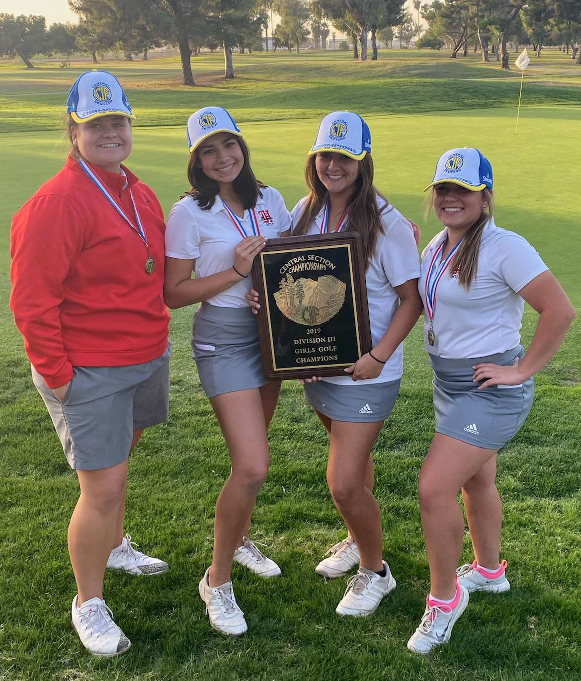 Championship swing: Hanford girls golf wins first-ever Central Section title