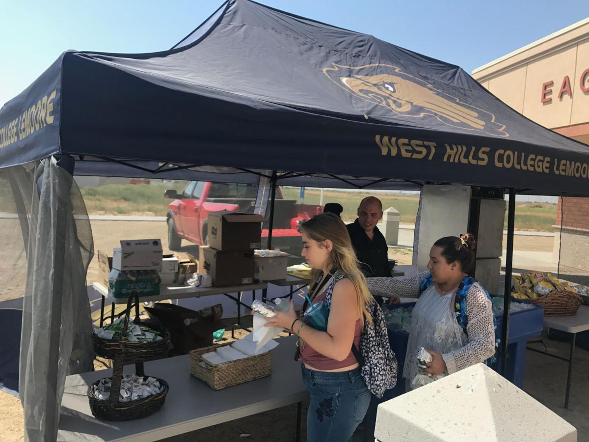WHCL hosts BBQ for students