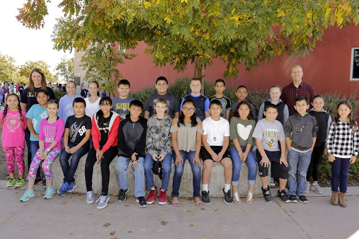 Reagan: October students of the month