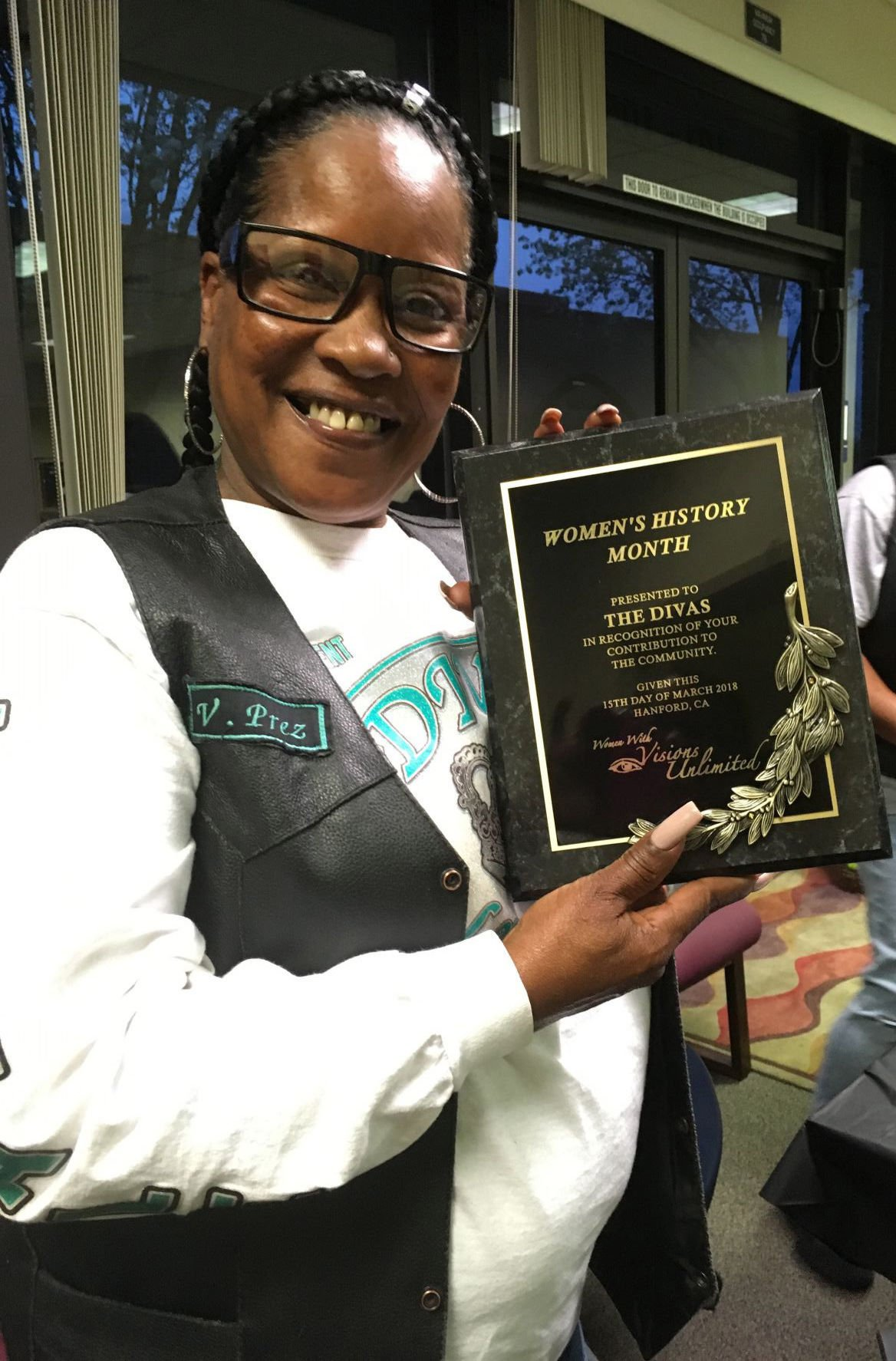 The Divas Social Club recognized for their service