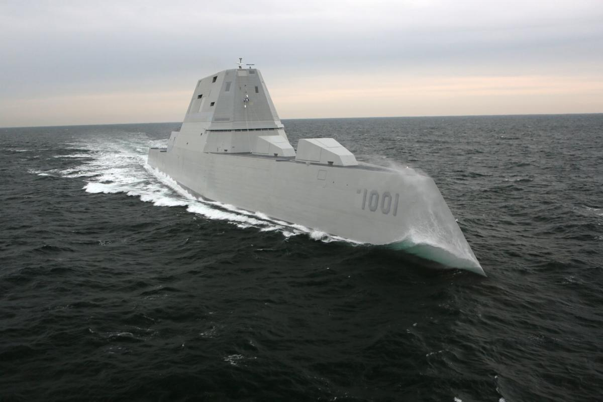 Future USS Michael Monsoor successfully completes acceptance trials