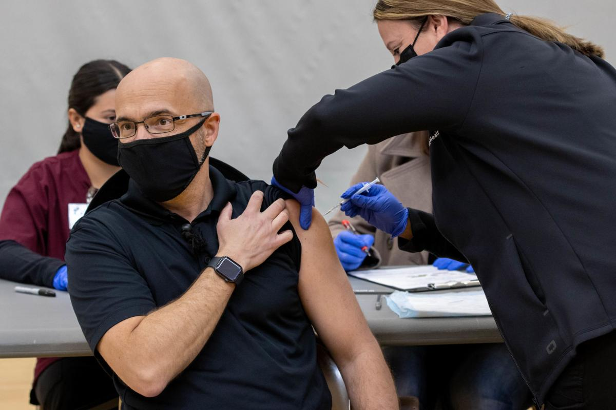 Mass vaccination efforts continue in Kings County