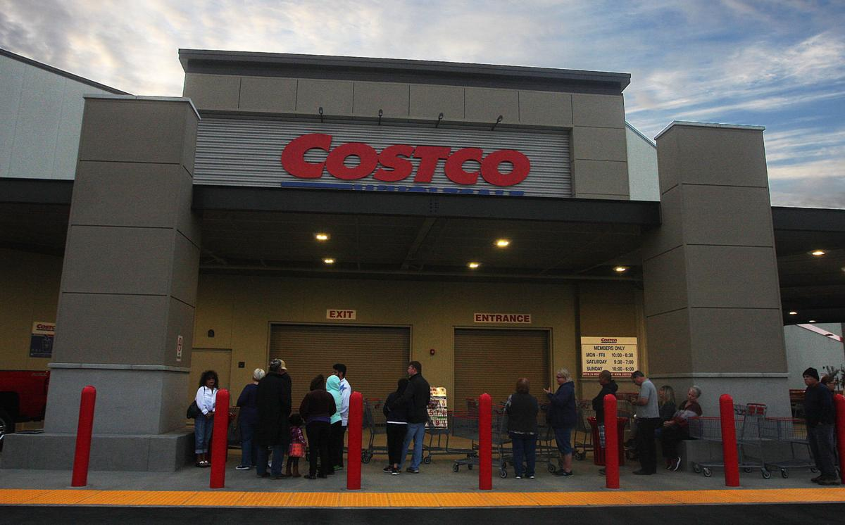 Costco opens in Hanford