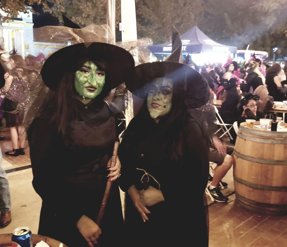 Witches Night green