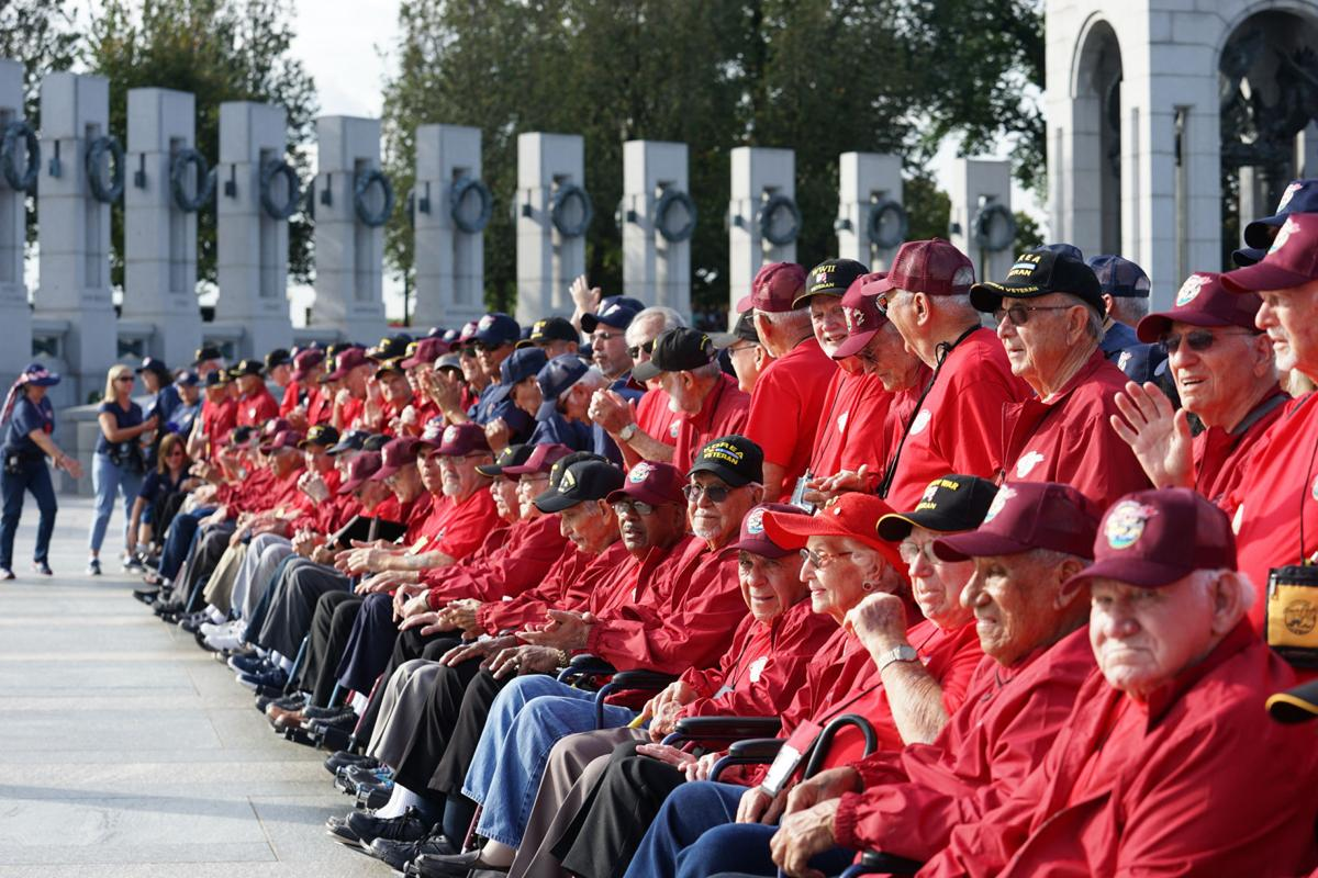 Honor Flight WWII Memorial