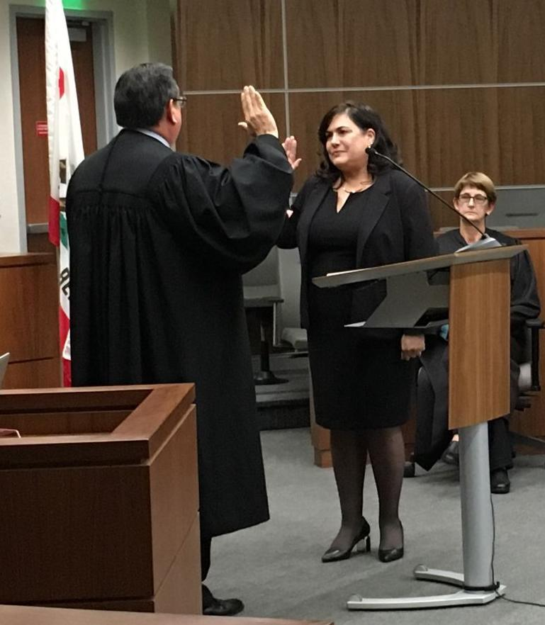new judge