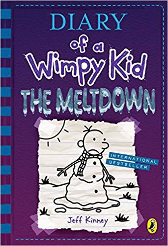 """""""Diary of a Wimpy Kid: The Meltdown"""" by Jeff Kinney, Publicity photo"""
