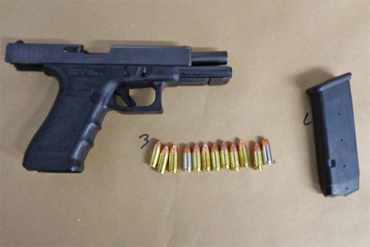 Loaded gun: Gun