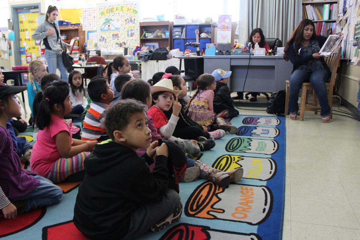 Future teachers: Yvette Esparza