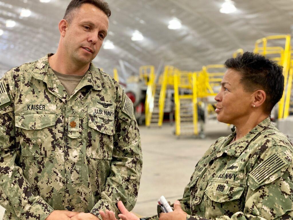 Rear Adm. Bette Bolivar, Commander, Navy Region Southwest visits NASL