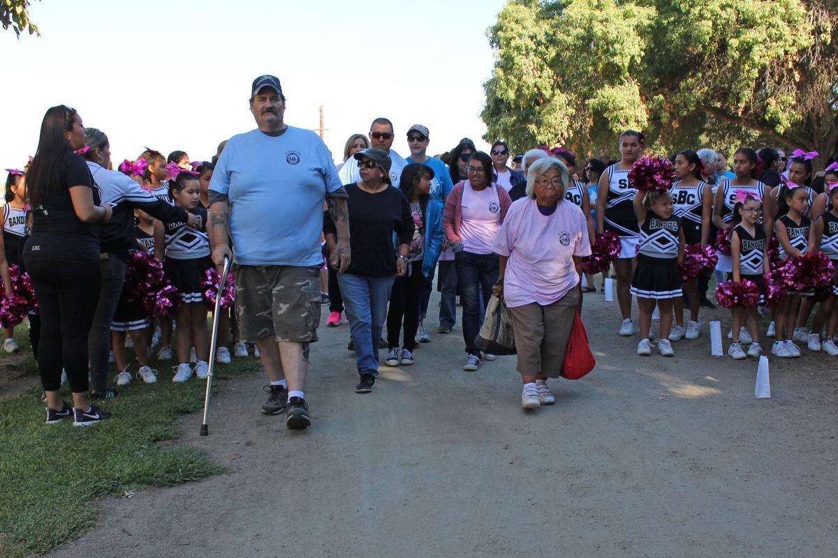 Central Valley Cancer Walk: Survivors' lap