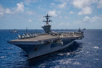 Three aircraft carriers to change homeports