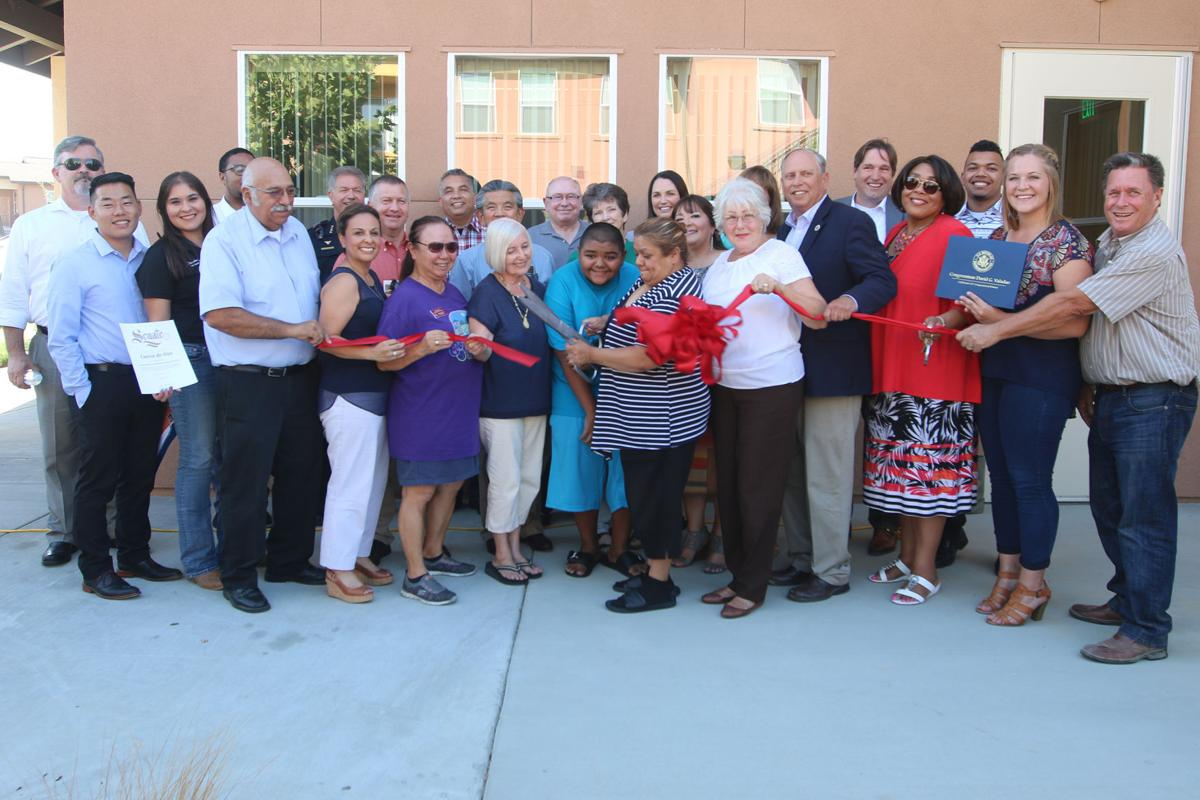 A safe place: Ribbon cutting