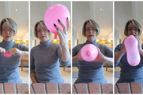 This Brilliant Video Explains Childbirth Using Just A Balloon And A Ping Pong Ball