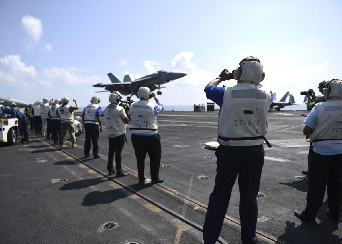 USS Nimitz first carrier to visit Sri Lanka in 32 years